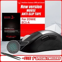 hotline games mouse anti slip tape for zowie ec1 a ec1a mouse sweat resistant pads mouse side anti slip stickers mouse skates