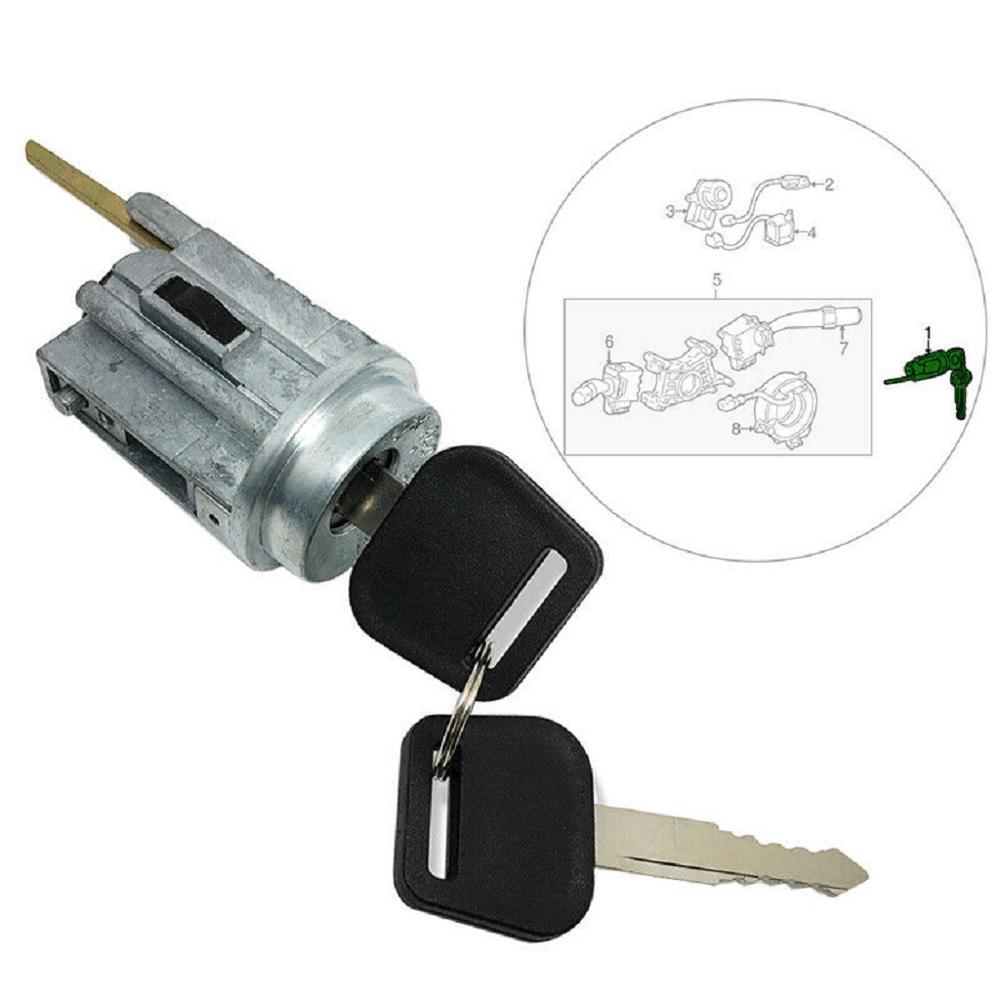 Cilindro de bloqueio de ignição do carro tumbler para toyota corolla geo prizm 1998 1999 2000 2001 2002 oe 69057-12340