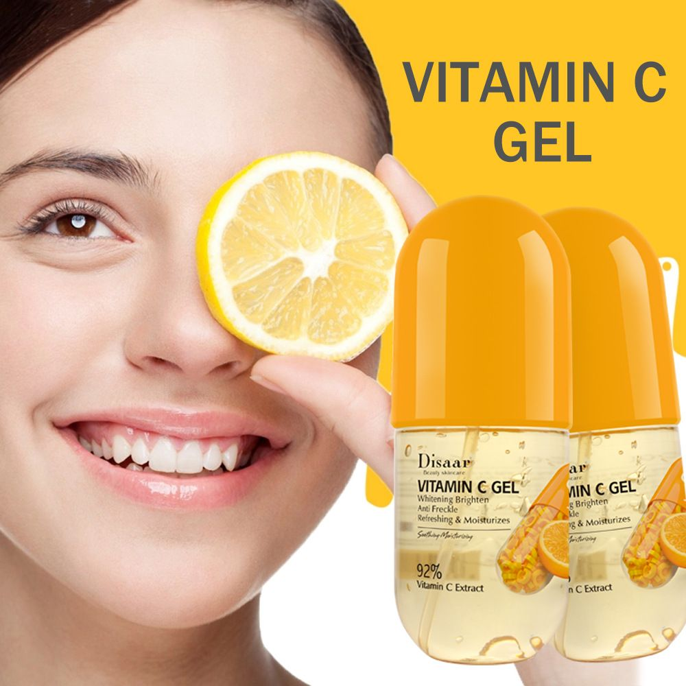 LAIKOU 92% VC Capsule Moisturizing Gel Skin Care Face Cream Deep Cleaning Shrink Pores Skin Lighten Oil Control Repairing Gel недорого