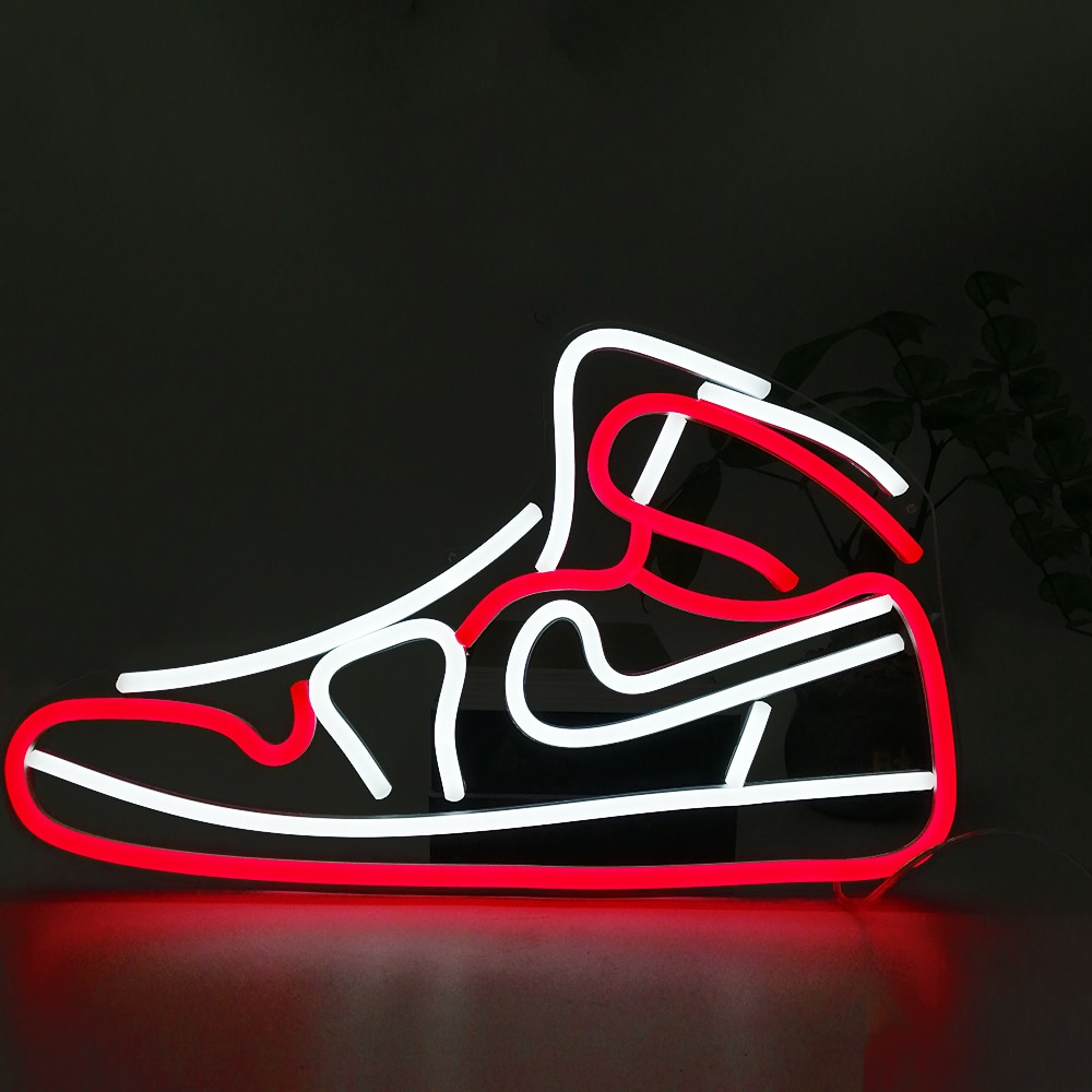 Custom Shoes Neon Light Led Neon Light Sign Birthday Gift Home Wall Decoration Board Display For Store