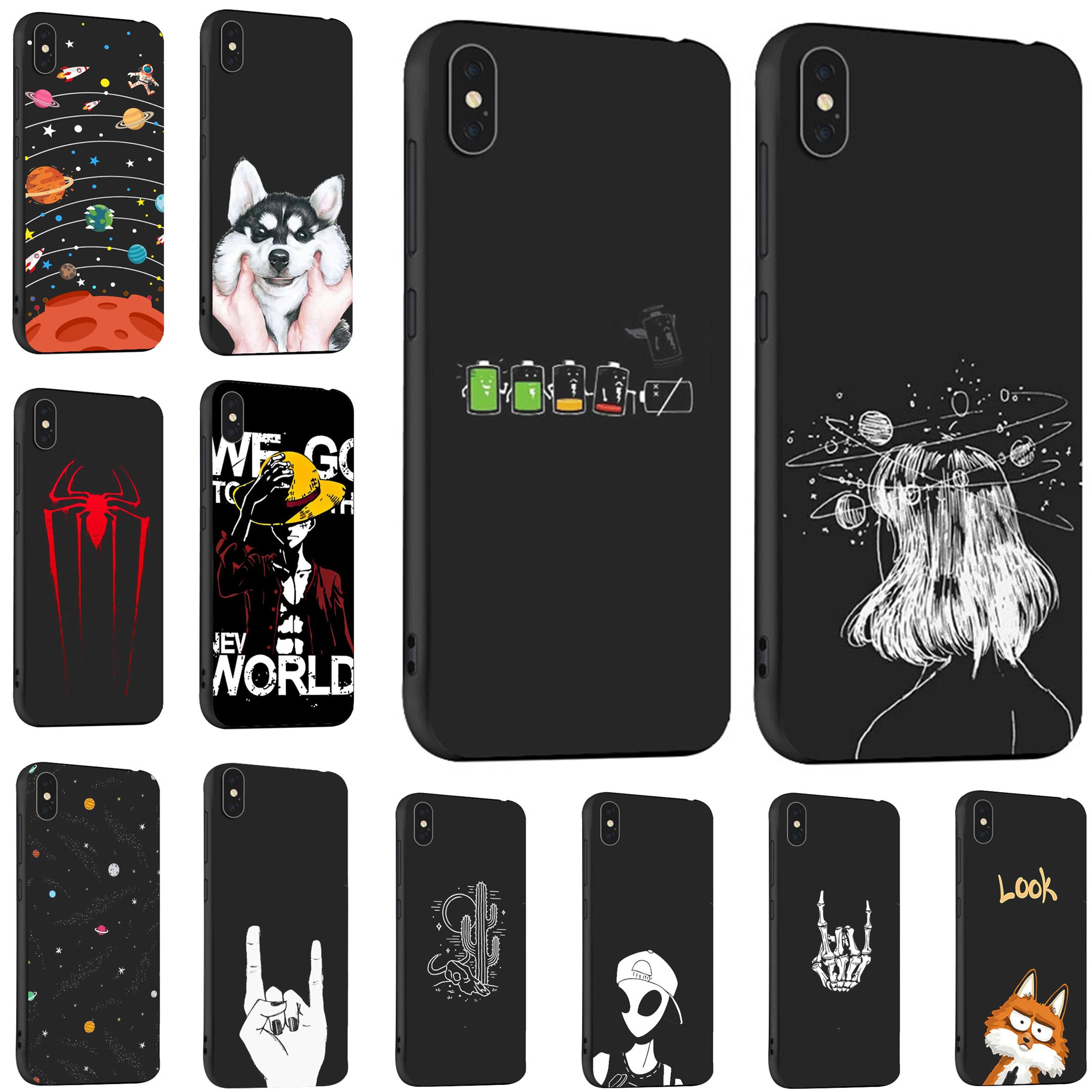 Black Mobile Phone Cases For Lenovo A5 A5000 K350t K5 Note Play Pro K5S K320T P70 A319 S5 S850 Z5s Lite Z6 Youth Cover bag