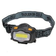 Potente faro delantero LED 6000Lms, batería AAA, Mini linterna LED para acampada, linterna de cabeza 12 COB, iluminación para exteriores