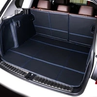 full covered waterproof boot carpets durable custom special car trunk mats for audi q3 q5 q7 a1 a3 a4 a6 a8 a5 tt a4 s3 s4 s5 s8
