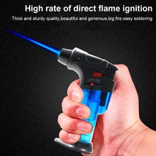 Kitchen Welding Torch Lighter Butane Jet Gas Lighter Turbo Portable Spray Gun Windproof Cigar Tube L