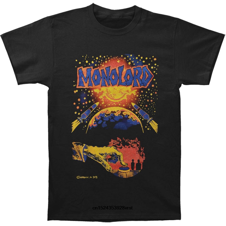 Camiseta divertida para hombre, camiseta novedosa, camiseta de mujer Monolord de la muerte Nuclear