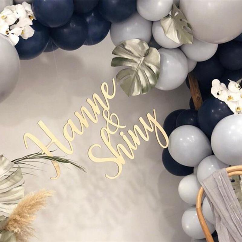 Signo personalizado de la pared de la boda de la novia y el novio accesorios de la foto decoraciones de la fiesta nupcial regalo de la boda signo de madera del nombre