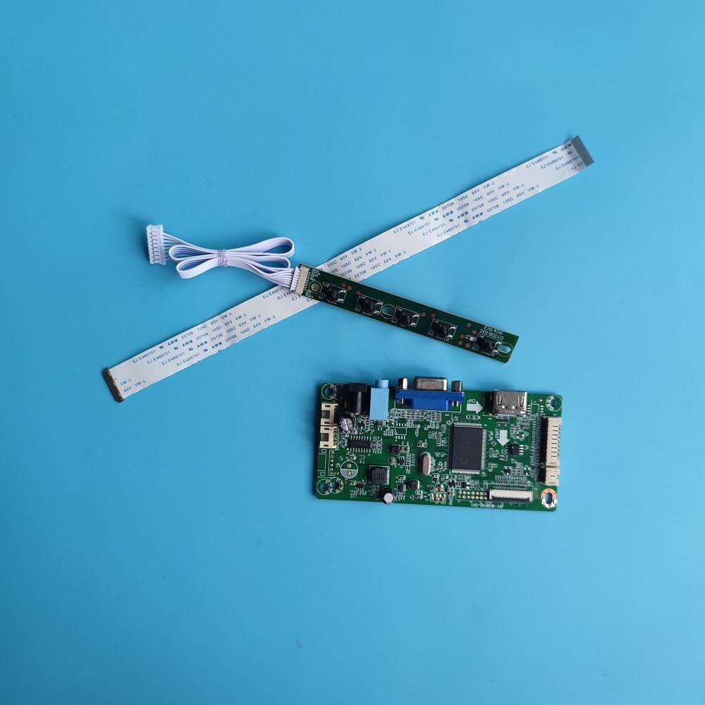 ل LP173WF4 HDMI-متوافق DIY بها بنفسك عدة VGA تحكم مجلس EDP LED 17.3