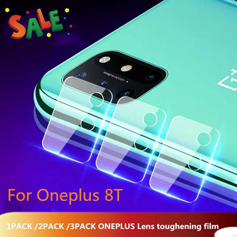 UGI 1-3PCS Full Cover szklana soczewka aparatu do OnePlus 8T szkło ochronne przezroczyste ochronne szkło hartowane Film aparat z tyłu szkła