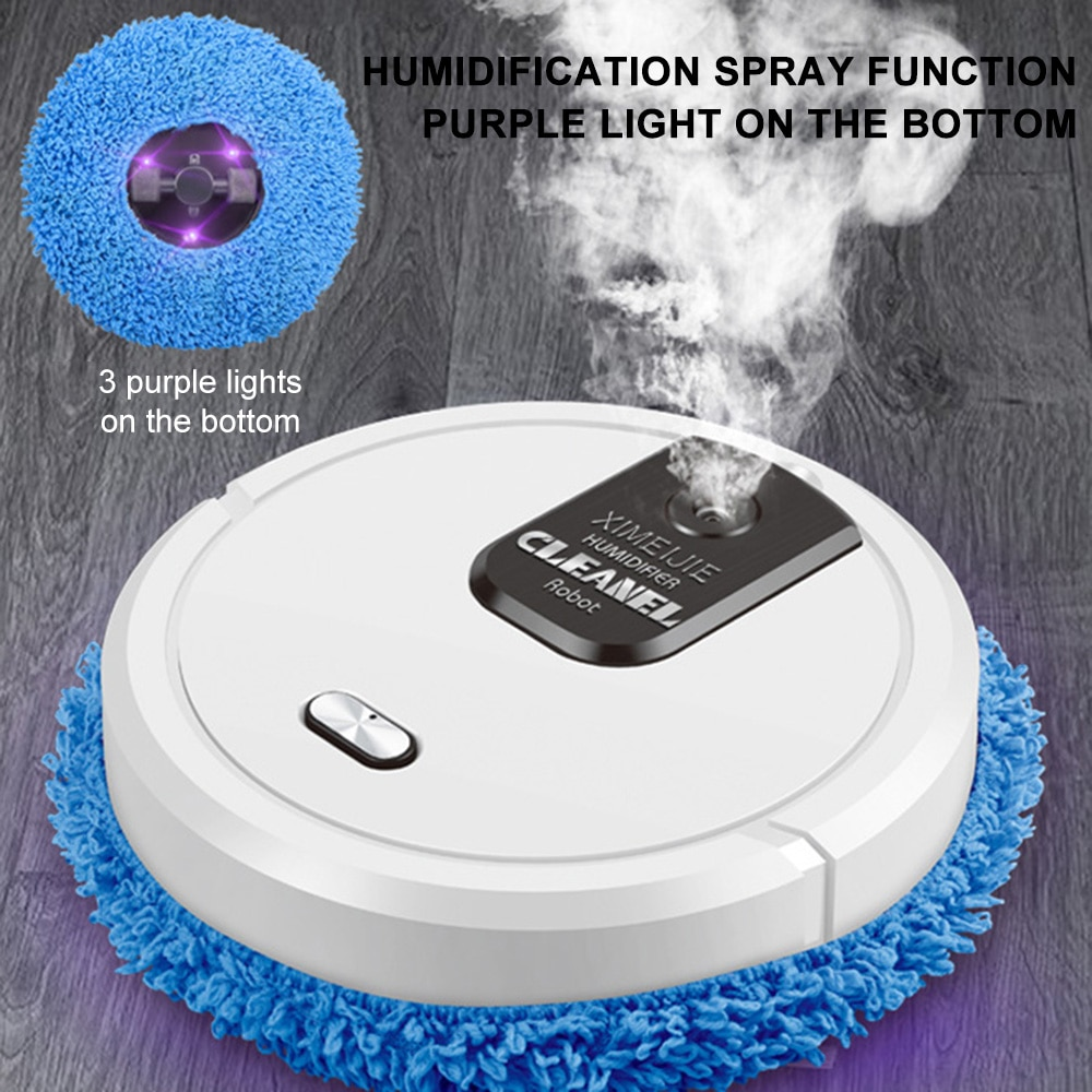 Robot Vacuum Cleaner Sweep and Wet Mopping Disinfection 3-in-1 Intelligent Vacuum Cleaner For Pet Hair Home Household Cleaner