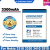 100% oryginalny LOSONCOER BLC-2 bateria do telefonu Nokia 3310 3330 3410 3510 5510 3530 3335 3686 3685 3589 3315 3350 3510 6650 6800 3550