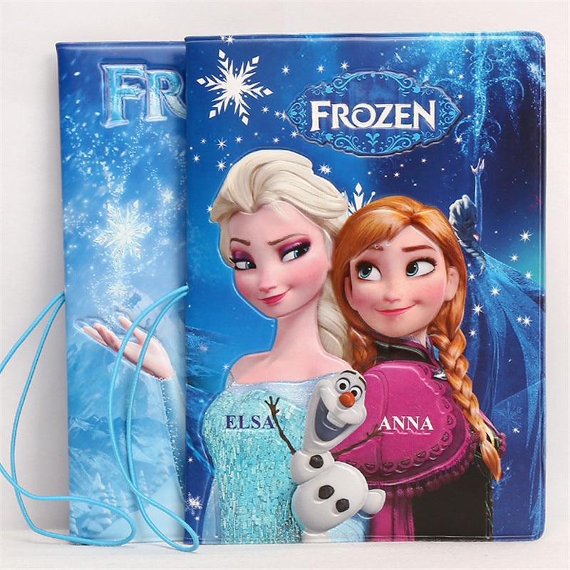 Фото - Disney Frozen Elsa Anna Stereo Card Holder Passport Set 3D ID Card Set Passport Holder business card holder card подарочный набор disney frozen ii anna house set