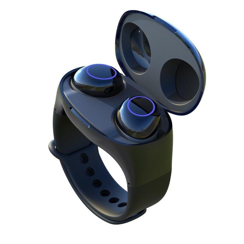 Auriculares inalámbricos Briame Bluetooth 5,0 auriculares TWS HIFI Mini auriculares para correr deportivos compatibles con teléfonos iOS/Android llamada HD