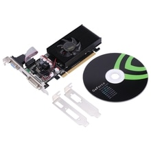GT210 1G D2 64BIT Ie Card, Dual-Sn Bright Ie Card Supports Large and Small Chassis/All-In-One/Deskto
