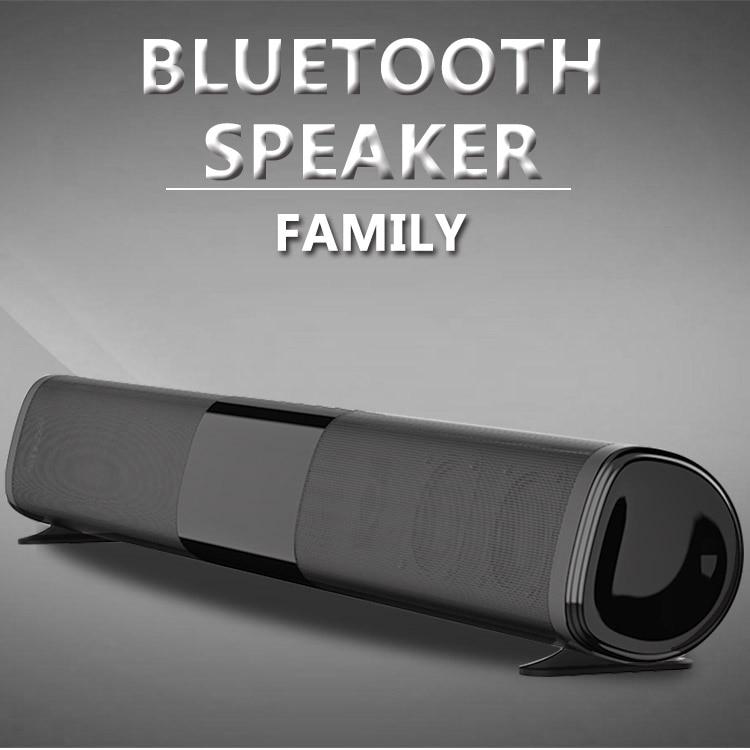40 Вт tws100вт патент новый ТВ эхо настенный Саундбар проводной и беспроводной Bluetooth домашний окружающий Саундбар для ПК кинотеатр динамик/TF/AUX