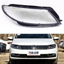 Headlamp Lens For Volkswagen VW Passat CC 2013 2014 2015 2016 2017 2018 Headlight Cover Car Headlamp Clear Lens Auto Shell Cover