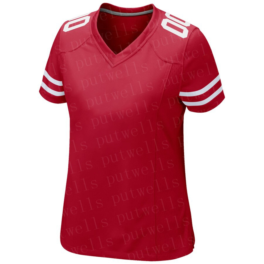 Jersey nuevo de fútbol americano 2019 para mujer, Jersey George Kittle Jimmy Garoppolo Nick Bosa Deion Sanders, camisetas de Deebo