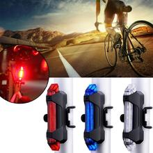 Bicycle Light Outdoor Night Riding Safety Warning Light USB Charging Bike Riding LED Lamp Bike Light Farol Bike Bike Accessories