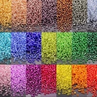 multi size 150 120 80 60 czech glass seedbead 35 colors spacer glass rice beads for jewelry pearl earring diy material 10g