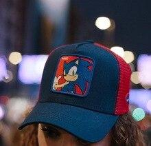 Cartoon Anime Dragon Ball Baseball Caps Men Women Snapback Hip Hop Cap Summer Breathable Mesh Trucker Hat Dad Hats