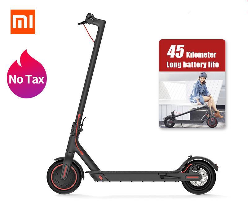 Xiaomi Mijia M365 Pro Electric Scooter Smart E Scooter Skateboard Hoverboard Longboard 2 wheel patinete Adult 45km Battery