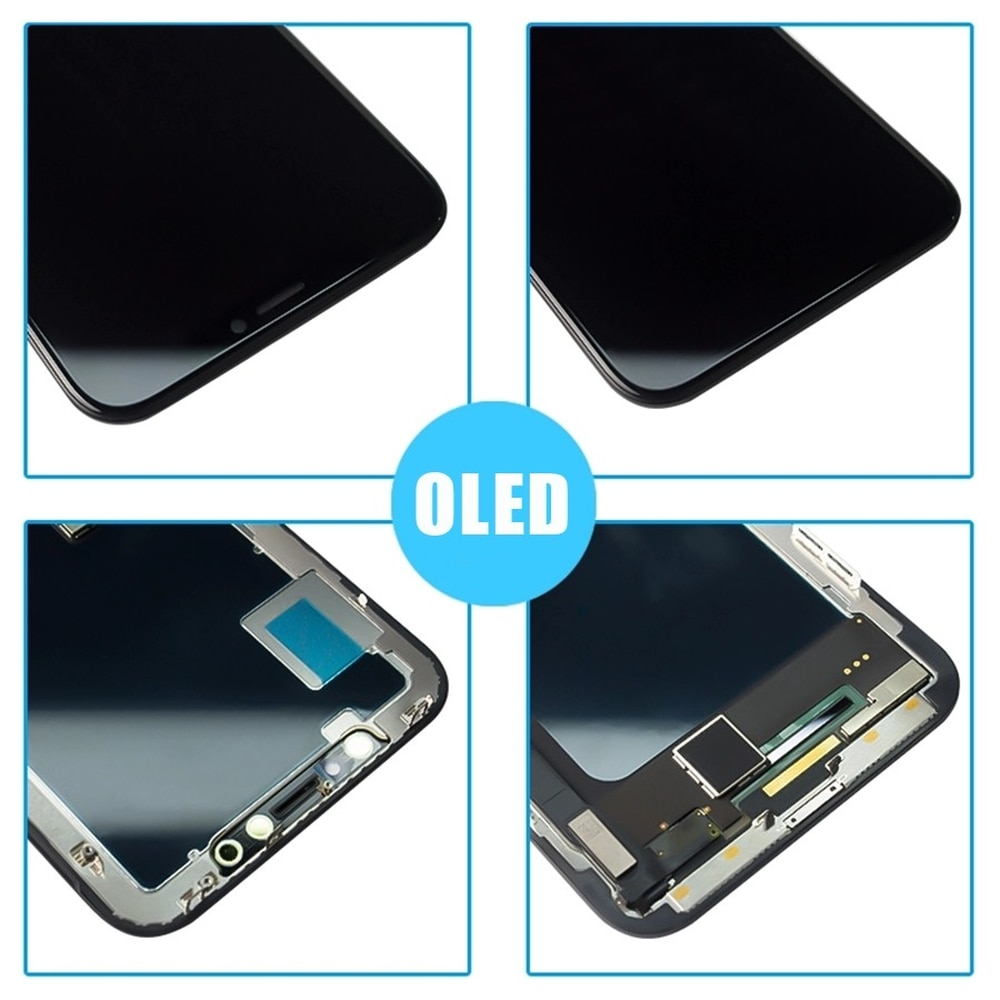 AAAAA Screen LCD For iPhone X XS XR XS MAX OLED OEM Display With 3D Touch Replacement For 11 TFT Assembly LCD Original Quality enlarge