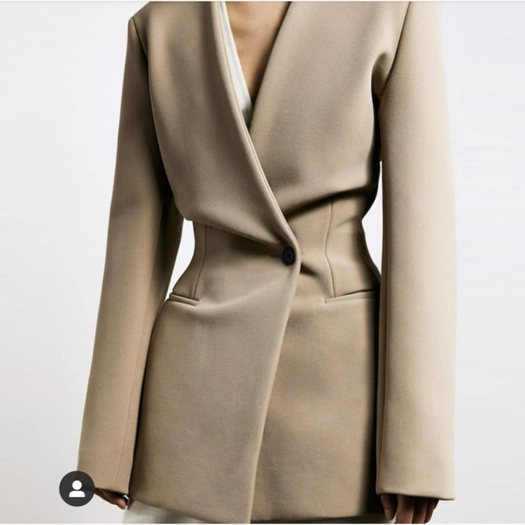 2020 Spring and Summer Women's New Jacket coat Long