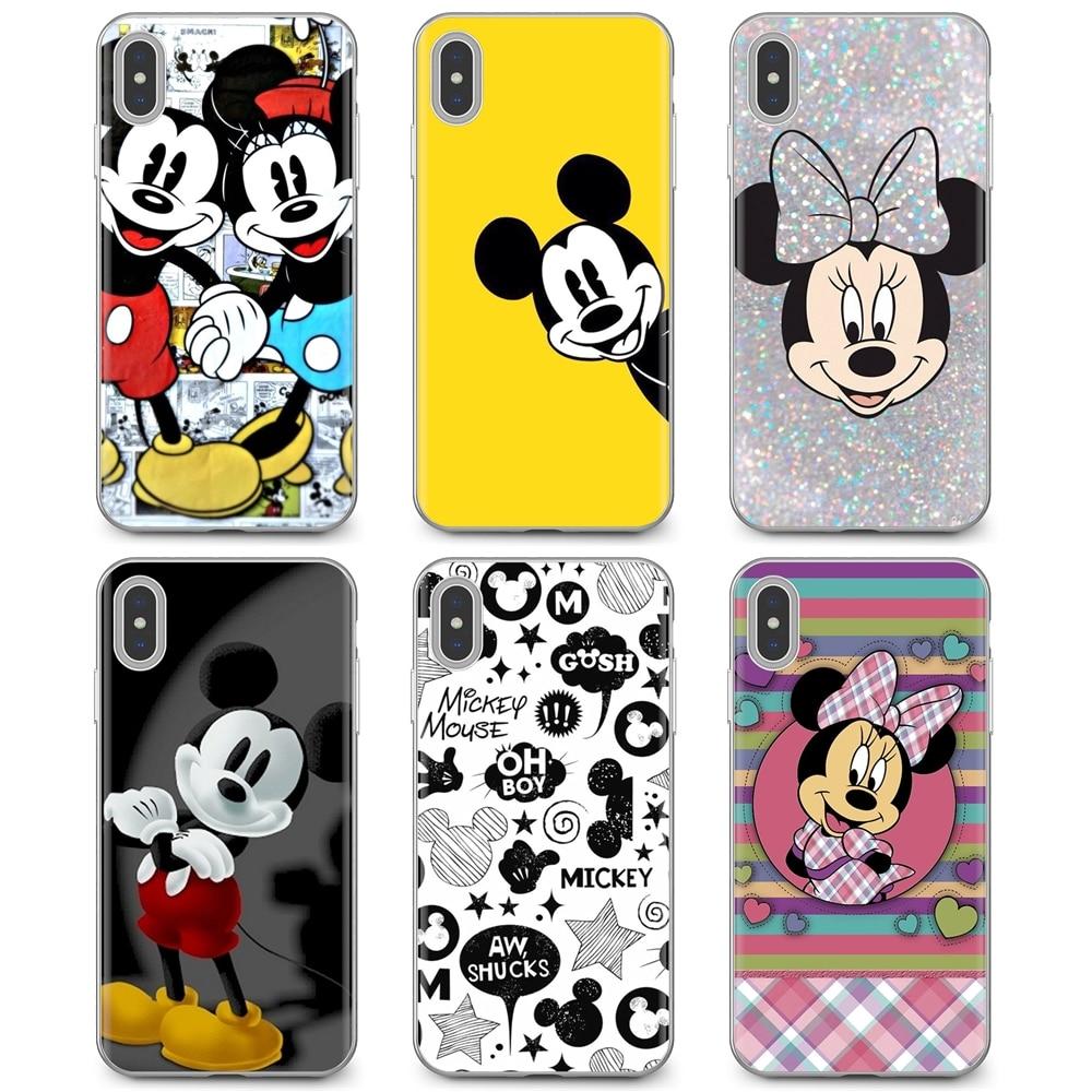 Slim Silicone Soft TPU Phone Case mickey and minnie For Samsung Galaxy J1 J2 J3 J4 J5 J6 J7 J8 Plus 2018 Prime 2015 2016 2017