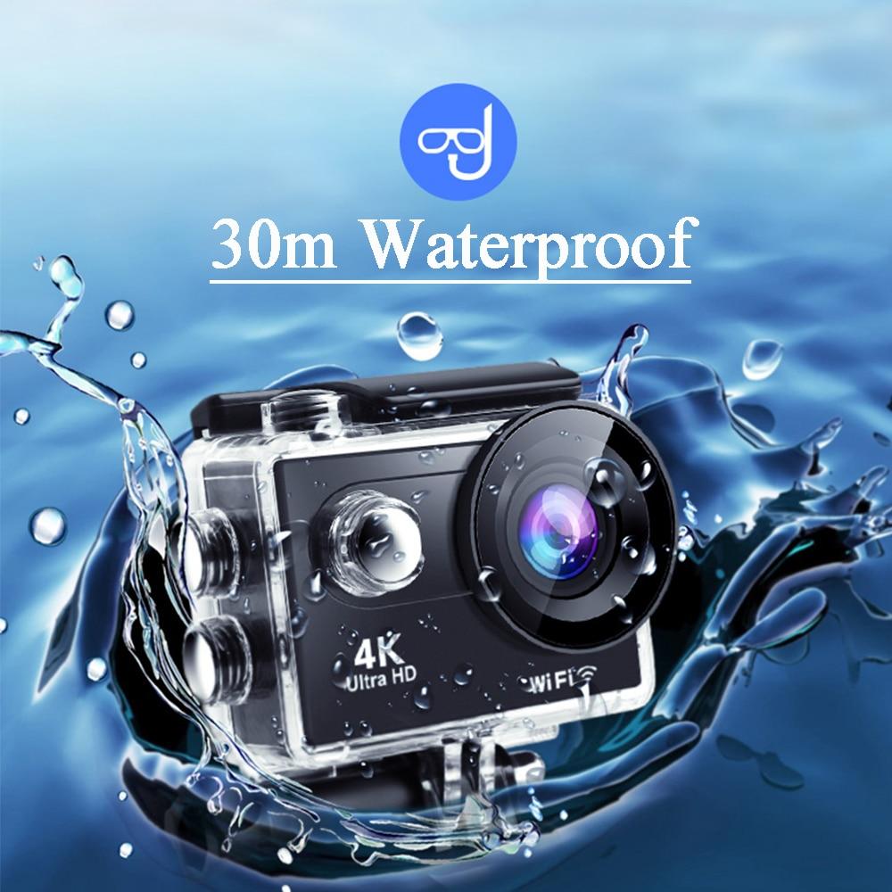 Action Camera 4K Ultra HD WiFi 2.0 inch 60fps Sport Cameras 30m Underwater Go Waterproof Pro Helmet Bike Video Recording Camera enlarge