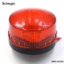 1x DC 12V oder 24V LED tor blinklicht Lampe Alarm Lampe Für schaukel schiebe Tor Opener/ barriere Tor Signal strobe blinkende lampe