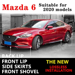 Suitable for mazda 6 2020 ATEZA JDM to refit front lip front spoiler, front bumper anti-collision anti-scratch strip