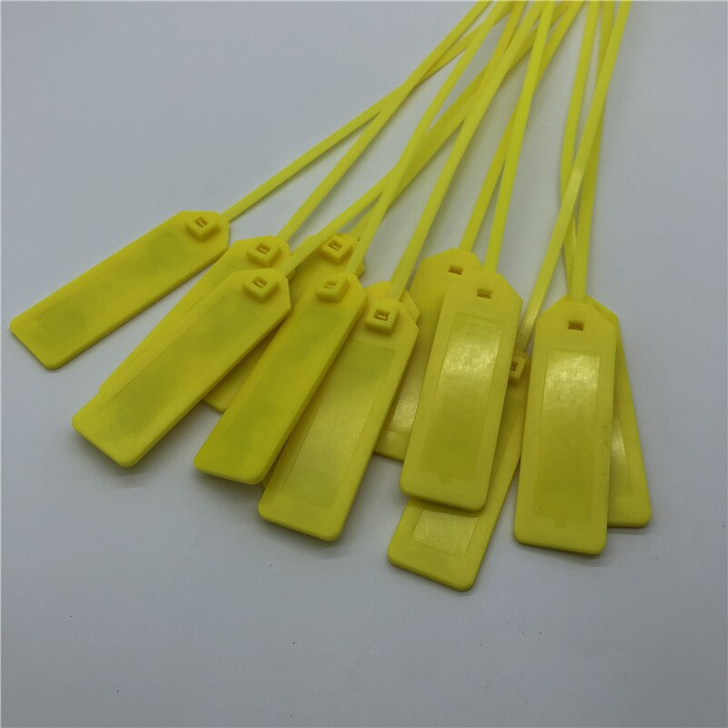 RFID Zip Tie Waterproof Cable Tracking  Logistics Electronic Plastic Packaging Sisposable NFC Seal Self-locking Tag 100pcs/Lot enlarge