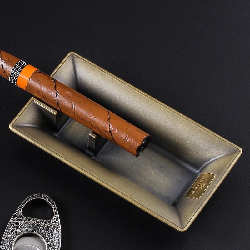 Sala de Estar Luxo Monção Charuto Cinzeiro Liga Simples Grande Casa Decoração Presente Acessórios 165*85*30mm