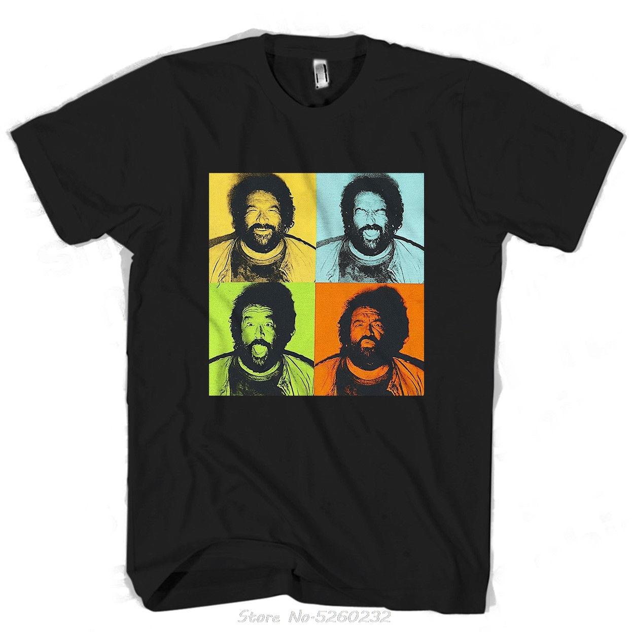 Camiseta de manga corta para hombre, camisa de arte Pop, con estampado...