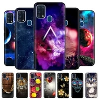for samsung m31s case silicone soft tpu back cover for samsung galaxy m31s m317f case bumper on m31 s m 31s coque phone cases