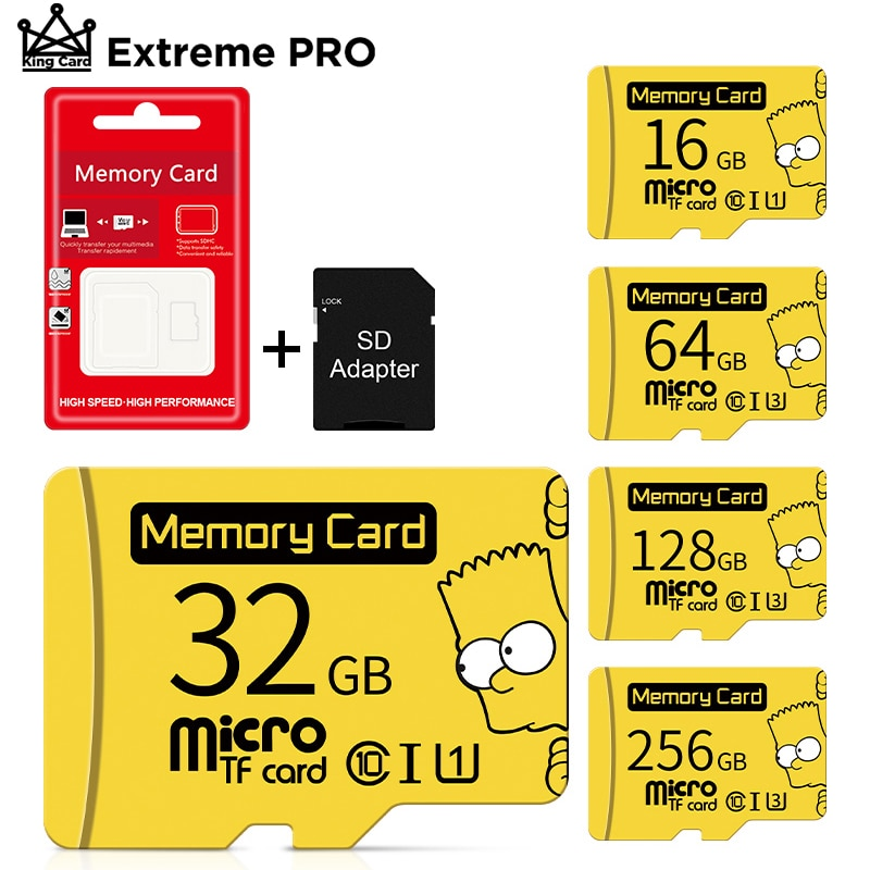 100% Original micro sd card 4gb 8gb 16gb 32gb memory card flash TF Cards 64GB 128GB карта па�