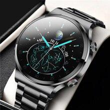 2021 Smart Watch Men 1.28 inch Full Touch Screen IP68 Waterproof Bluetooth 5.0 Sport Fitness Tracker