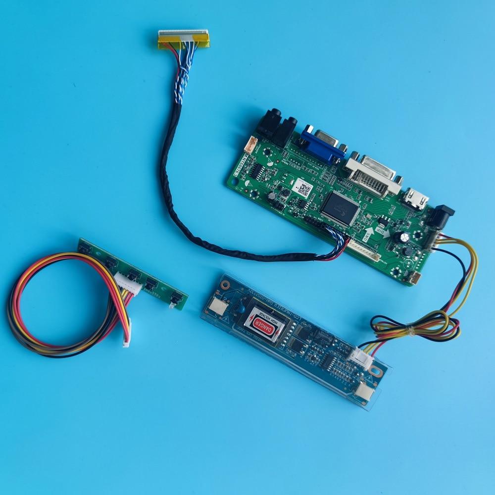 HDMI-متوافق DVI VGA M.NT68676 لوحة تحكم LCD LVDS ل HT185WX1-300/100 HT185WX1-500/501 1366X768 لوحة شاشة عرض