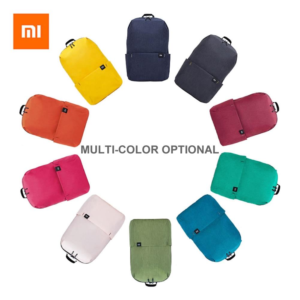 Оригинальный маленький рюкзак бренда Xiaomi Mi, 7 л/10 л/15 л/20 л, городские повседневные дорожные рюкзаки, спортивная водонепроницаемая сумка унис...