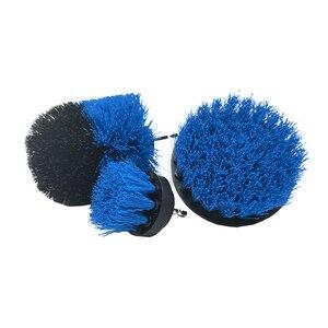 Image 2 - Щетка из полипропилена для чистки туалета, инструмент для чистки коврика, электродрели, 3 шт./компл.