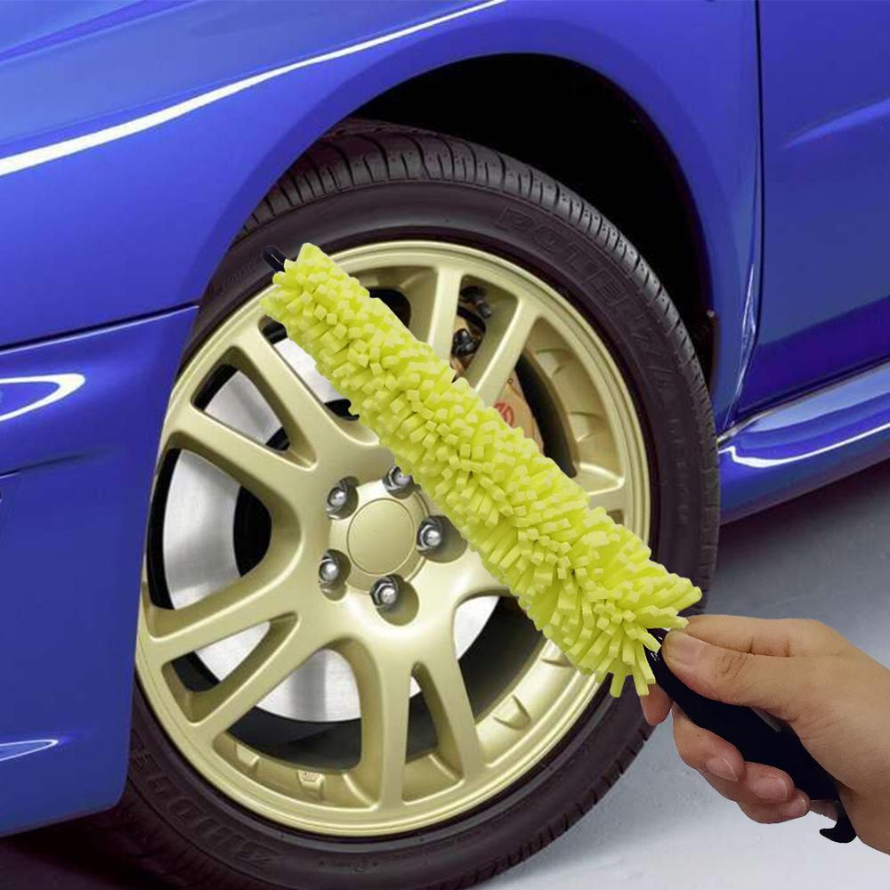 Cepillo de limpieza de neumáticos de rueda de coche para opel astra h bmw f30 e36 citroen c1 vw caddy volvo v50 alfa romeo e46 vw ford focus