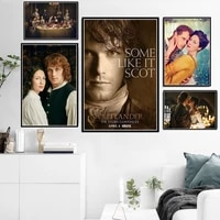 new outlander tv series show movie character poster and prints canvas oil painting art wall pictures home decor quadro cuadros