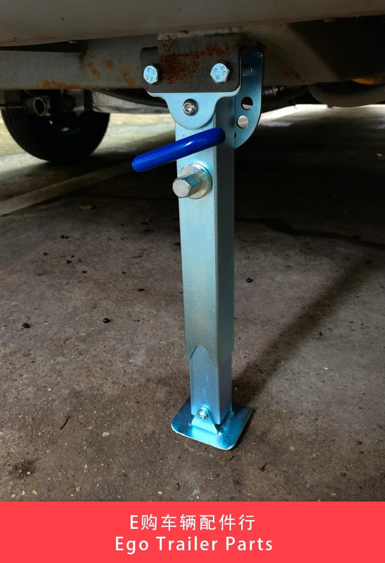 EGO TRAILER Stabilser Legs Drop Down Caravan parking legs Motorhome Camping RV Trailer prop stands corner steady 350~490mm enlarge