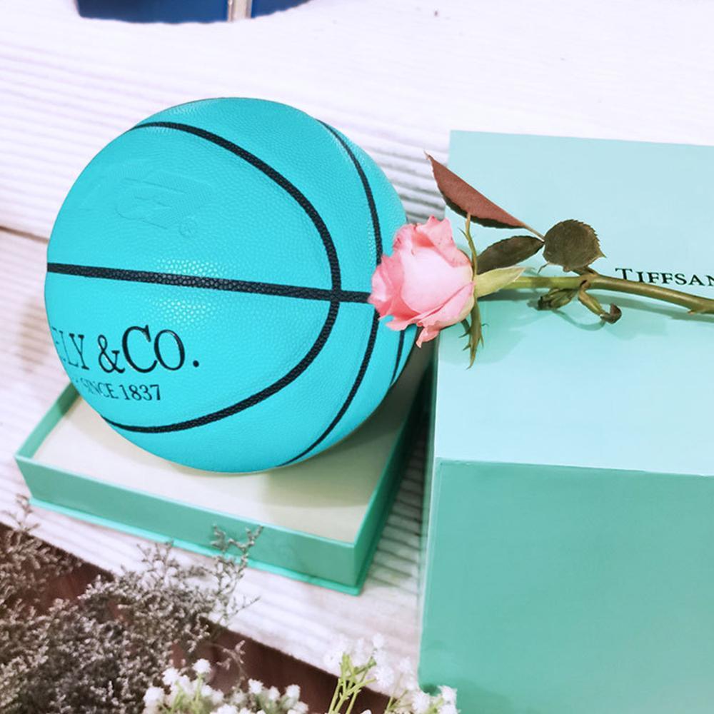Тренировочная баскетбольная корзина сетчатый баскетбольный мяч для улицы 7 новый мяч Баскетбольный мяч размер иглы для помещений кожаный м...