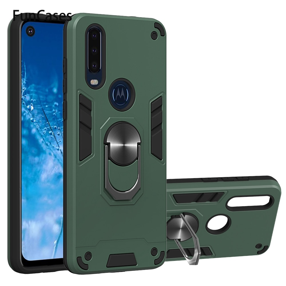 Teléfono accesorios para estuche Moto P40 de Carcaso a prueba de choques...