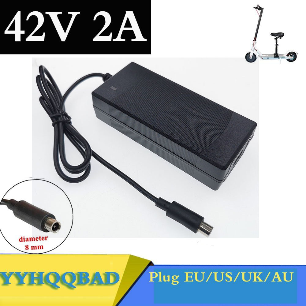 Electric Scooter Charger 42V 2A Adapter for Xiaomi Mijia M365 Ninebot Es1 Es2 Accessories Battery