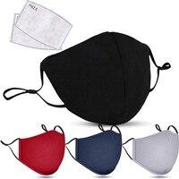 1pcs Face Mask Black Mouth Mask Reusable Mask Washable Mascarillas Face Shield Masque Facial Cover Adult Accessories Wholesale