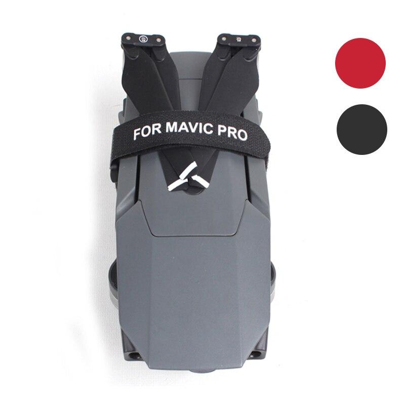 2 шт./пара, стабилизатор, Крепежный ремень, двигатель/пропеллеры, зажим, держатель для ремня, защита для транспорта, аксессуары для DJI MAVIC PRO