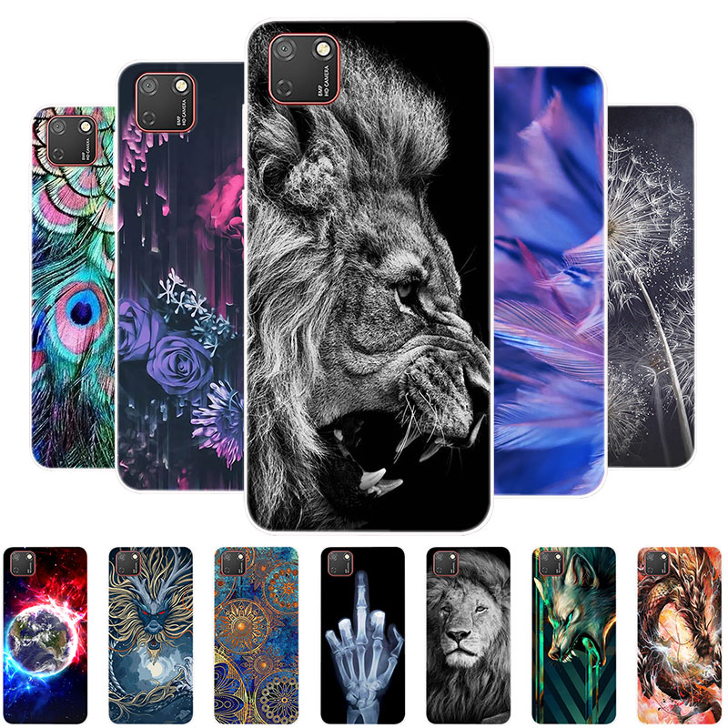 Lion Animal Case For Huawei Honor 9S Cases Phone Cover For Honor 9S 9 S DUA-LX9 Silicone Soft Case For Honor9S Coque Bumper