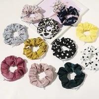 2020 creative zipper scrunchie women elastic hair bands hair ties pontail holder rope key pocket scrunchies hair accessories