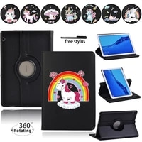 360 rotating tablet case for huawei mediapad t3 10 9 6t5 10 10 1 anti fall automatic wake up and sleep protective casestylus
